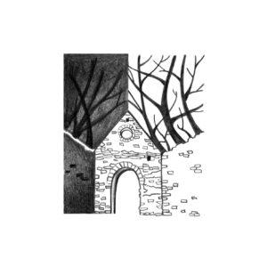 Ilustracje czarno-białe ołówkowe