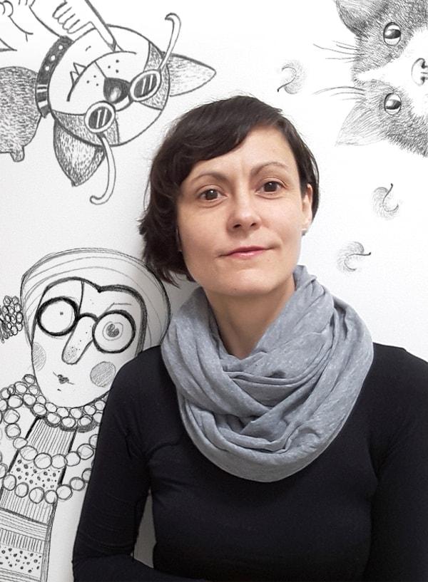 Zdjęcie portret Lidka Szwabowska
