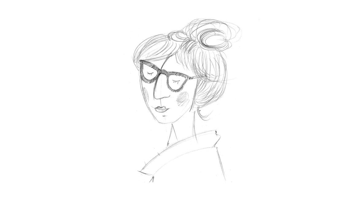 szkic portret