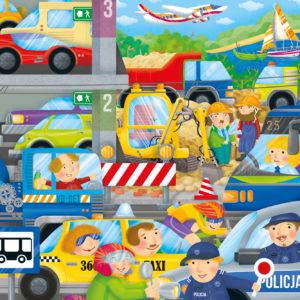 Ilustracje do puzzli